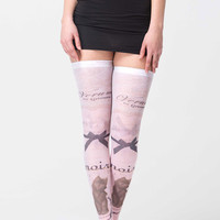 Noir et Noir Tattoo Tights