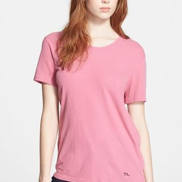 Women's MARC BY MARC JACOBS 'Soft V' Crewneck Tee,