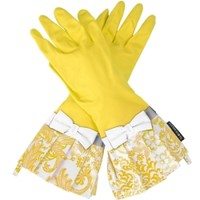 Gloveables® Yellow Gloves with Yellow Lace Pattern :: Welcome to NeatlySmart™ :: Good things for your home & family™