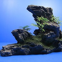 Mountain Aquarium Ornament tree - Rock Cave stone HIDE