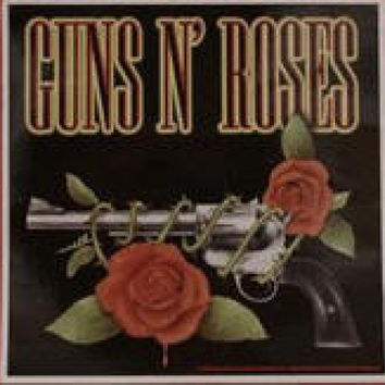 Guns n' Roses Vinyl Sticker One Gun Logo