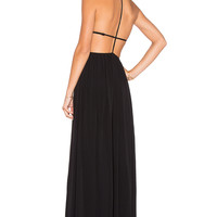 NBD x REVOLVE Get Out Maxi Dress in Black