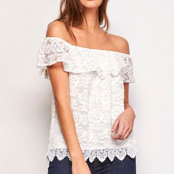 BB Dakota Zahara Lace Top