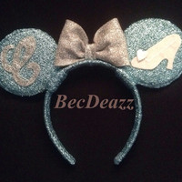 Disney Cinderella Minnie Mouse Ears headband
