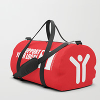 Support Your Local Djs Duffle Bag by paulosilveira