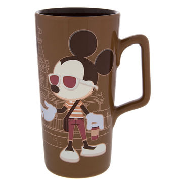 Disney Parks Mickey & Minnie Really Swell Coffee Ceramic Tall Mug New