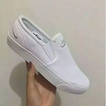 Nike Slip-On Classic Canvas Old Skool Sneakers Sport Shoes