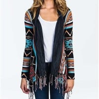 Billabong Dream Chaser Sweater - Off Black Multi - JV04VDRE				 |  			Billabong 					US