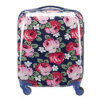 Travel & Weekend Bags | Aubrey Rose Hard Shell Cabin-Sized Wheeled Suitcase | CathKidston