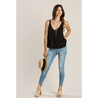 Veronica Sleeveless Ribbed Top