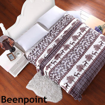 Beenpoint LUXURY kids 120  200CM  blanket boy GIRL plaid for TO on the bed  throw fluffy fleece blankets CORAL SNUGGLE coverlet