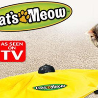 """As Seen On TV"" Cats Meow"