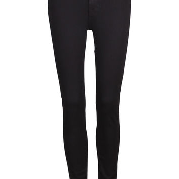 Black High Waisted Skinny Jean