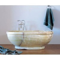 Stone Forest Bathtub with Rolled Rim - Tubs  Whirlpools - Modenus Catalog