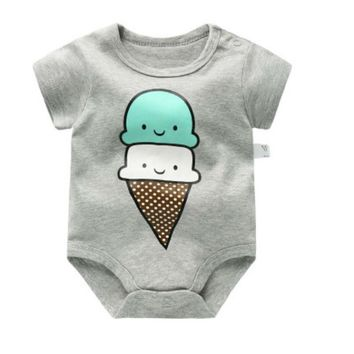 BABY BODYSUITS 100%Cotton Infant Body Short Sleeve Clothing Similar Jumpsuit Printed Baby Boy Girl Bodysuits Kids bodysuits