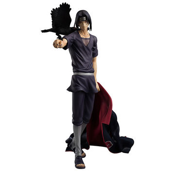 27cm Naruto Shippuden Uchiha Itachi Action Figures Anime PVC brinquedos Collection Model toys Free shipping AnnO00650N