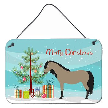 Welsh Pony Horse Christmas Wall or Door Hanging Prints BB9277DS812