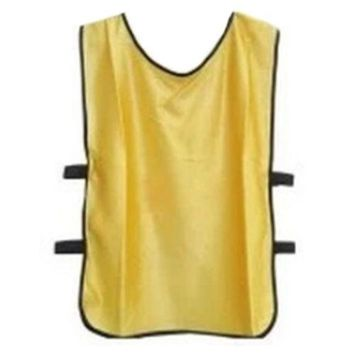 Football Player Soccer Training Vest   yellow