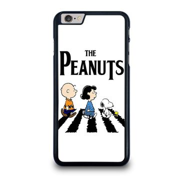 THE PEANUTS SNOOPY CHARLIE BROWN BEATLES iPhone 6 / 6S Plus Case Cover