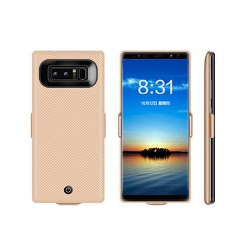 7000mAh External Smart Battery Cases For Samsung Galaxy Note 8 Ultra Thin Portable Backup Power Bank Charger Phone Cover