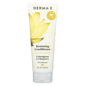 Derma E Conditioner, Restoring, Volume & shine - 8 oz