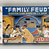 Vintage 1981 Milton Bradley Family Feud board game complete retro 80s game