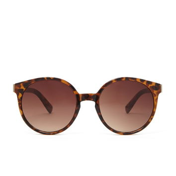 Leopard Frame Round Sunglasses