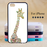 Giraffe ,gold,iPhone 5 case,iPhone 5C Case,iPhone 5S Case, Phone case,iPhone 4 Case, iPhone 4S Case,Case