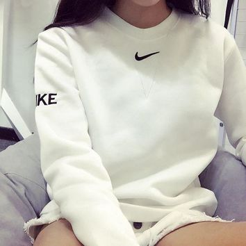 Nike Pullover Unisex With Pocket Long Sleeve Hoodies