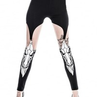 KILLSTAR KILLIN' IT SUSPENDER LEGGINGS