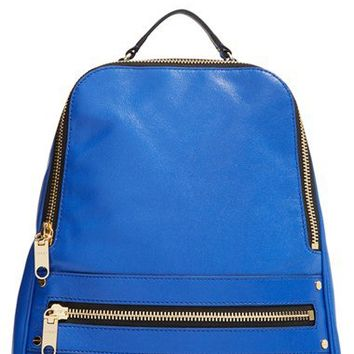 Milly 'Riley' Leather Backpack | Nordstrom