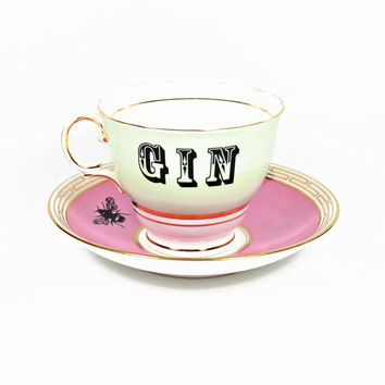 Gin in a Teacup