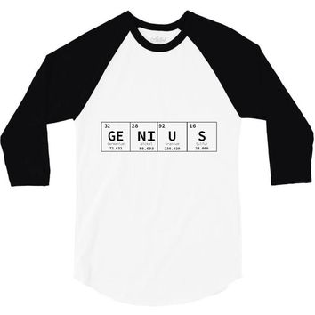 periodic table genius 3/4 Sleeve Shirt