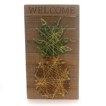 Home Decor Welcome String Art Home Decor