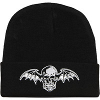 Avenged Sevenfold Men's Beanie Black