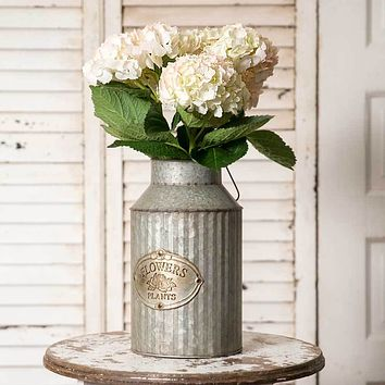 Flowers & Plants Can with Handle