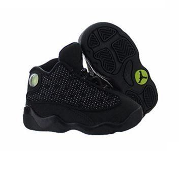 INFANTS AND TODDLER 13 RETRO JORDAN BLACK