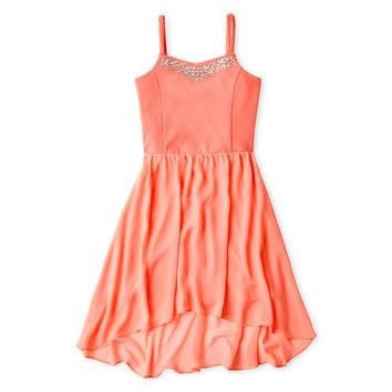 jcpenney - Sally M™ Sally Miller Rhinestone-Accent Dress - Girls 6-16 - jcpenney