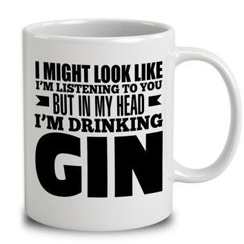 In My Head I'm Drinking Gin