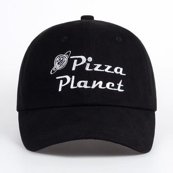 46870769f69e0 VORON 2018 New Pizza Planet Hat Baseball Cap Embroidery Dad Hat