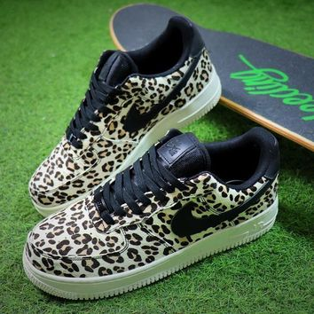 Nike Wmns Air Force 1 '07 LX Animal Prints Pack Snow Leopard Sneaker AF1 898889-004 Shoes - Sale