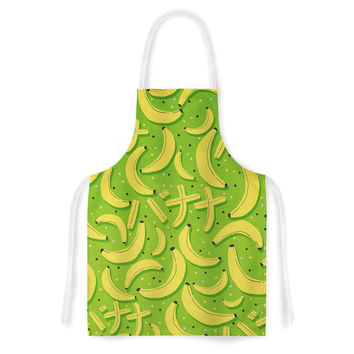 "Strawberringo ""Banana Pattern"" Abstract Food Artistic Apron"