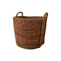 Pre-owned Large Woven Seagrass Basket