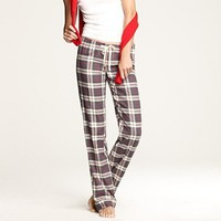 Women's Women_Shop_By_Category - sleepwear - Flannel pajama pant in plaid - J.Crew