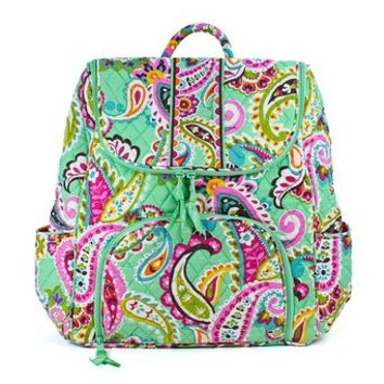 Vera Bradley Double Zip Backpack Tutti Frutti