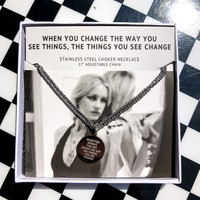 JAECI - When You Change The Way You See Things Necklace