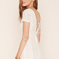 Ornate Lace Romper