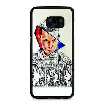 Stranger Things Eleven 2 1 Samsung Galaxy S7 Edge Case