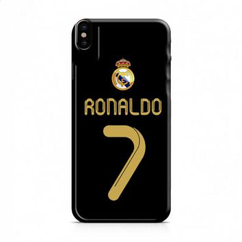 Real Madrid Ronaldo CR7 Jersey iPhone X case