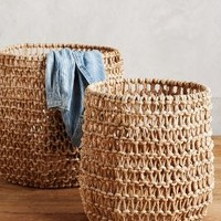Tillage Baskets by Anthropologie in Natural Size: Set Of 2 House & Home